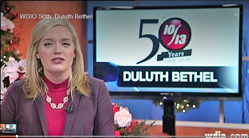 WDIO-TV features Bethel, honors decades of work - Duluth Bethel